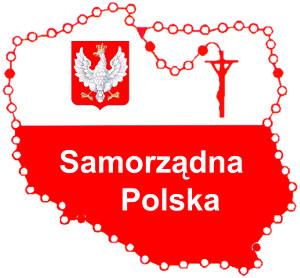 """Logo Ruchu Obrony Rzeczypospolitej """"Samorządna Polska"""""""