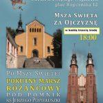 Krucjata   różąńcowa  za Ojczyznę  w Opolu – ku INTRONIZACJI Chrystusa  w Polsce