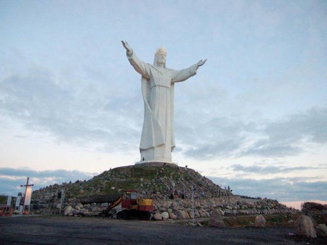 Intronizacja Pana Jezusa na Króla Polski w Świebodzinie 31. 10. 2020.